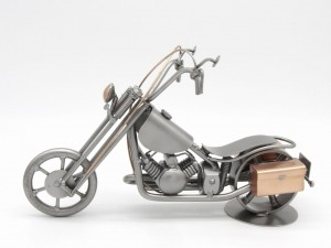 MOTOR CHOPPER - FIGURKA Z METALU